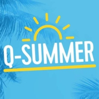 Logo of radio station Q-Summer