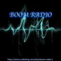 Logo de la radio Boom Radio