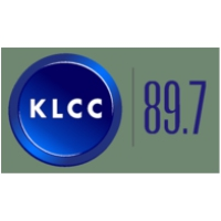 Logo of radio station KLCC