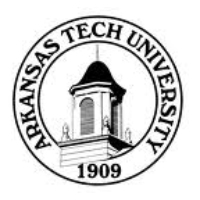Logo of radio station KXRJ Arkansas Tech University 91.9 FM