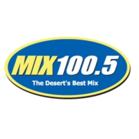 Logo of radio station KPSI Mix 100.5