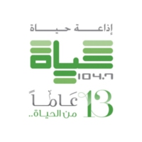 Logo of radio station حياة اف ام - Hayat FM
