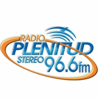 Logo of radio station Plenitud Stereo 96.6 FM