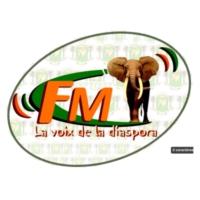 Logo of radio station La Voix de la Diaspora, Côte d'ivoire fm