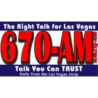 Logo of radio station AM670 KMZQ