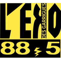 Logo de la radio Eko des Garrigues 88.5 FM