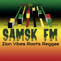 Logo of radio station SAMSK FM