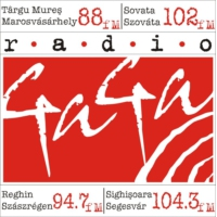 Logo of radio station Rádió GaGa