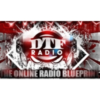 Logo of radio station DTF Radio