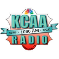 Logo of radio station KCAA 1050