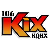 Logo of radio station KQKX 106 Kix Country