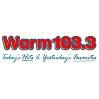 Logo of radio station WARM 103.3