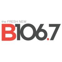 Logo of radio station WTCB B106.7