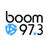 Logo of radio station Boom 97.3 FM
