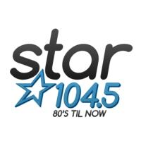 Logo of radio station KSRZ Star 104.5