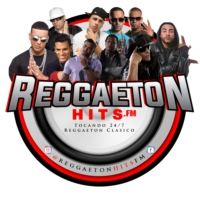 Logo of radio station ReggaetonHits.FM