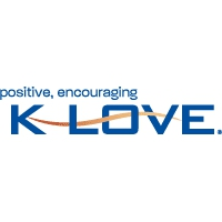 Logo of radio station KBLV K-LOVE Great Christian Music