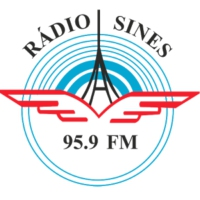Logo of radio station Sines 95.9 FM