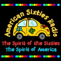 Logo of radio station American Sixties Radio