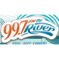 Logo de la radio 99.7 The River