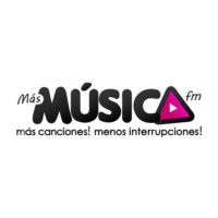 Logo of radio station Más Música FM