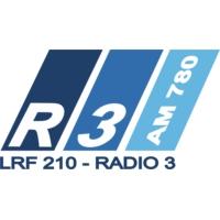 Logo de la radio Radio 3 Cadena Patagonia - Trelew