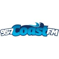 Logo of radio station CFPW 95.7 Coast FM