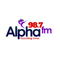 Logo of radio station Alpha FM 98.7