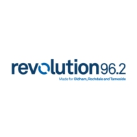 Logo of radio station Revolution 96.2