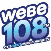 Logo of radio station WEBE 108