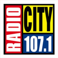 Logo of radio station Radio City FM 107.1