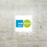 Logo of radio station Rock Détente 102.7 FM
