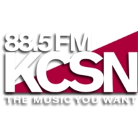 Logo of radio station KCSN