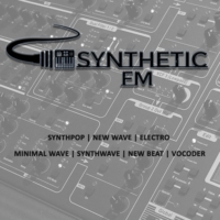 Logo of radio station Synthetic FM | Synth channel