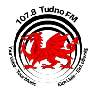 Logo of radio station Tudno FM 107.8