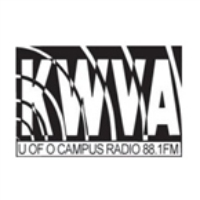 Logo of radio station KWVA 88.1