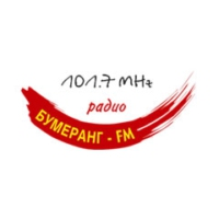 Logo of radio station Bumerang FM