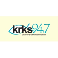 Logo of radio station KRKS 94.7