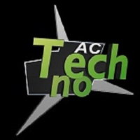 Logo of radio station TechnoAC