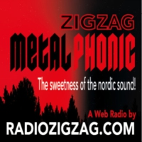 Logo of radio station Zig Zag Metal Phonic