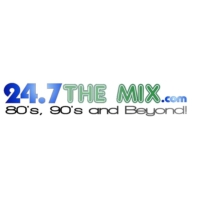 Logo of radio station 247 the mix