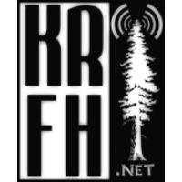 Logo of radio station KRFH