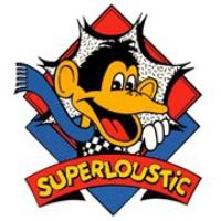 Logo of radio station SuperLoustic