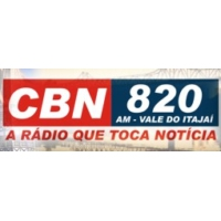 Logo of radio station CBN Vale Do Itajai