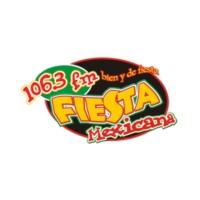 Logo of radio station XHPSP Fiesta Mexicana 106.3 FM