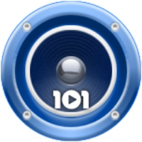 Logo de la radio 101.ru - Eurovision