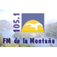 Logo of radio station De La Montana 105.1 FM
