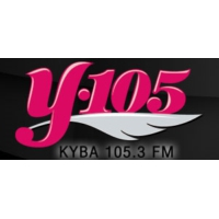 Logo of radio station KYBA Y105