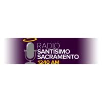 Logo of radio station KCVV Radio Santisimo Sacramento