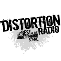 Logo of radio station Distortion Radio - Aggression